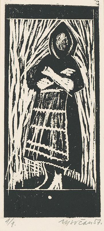 Imrich Vysočan – Stojaca žena