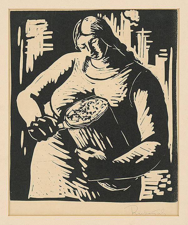 František Reichentál – Krájanie chleba