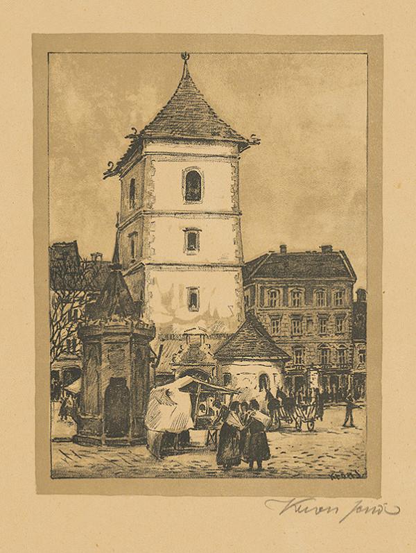 Eugen Krón – Urbanova veža v Košiciach