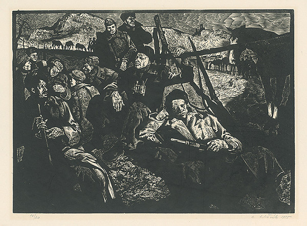 Vincent Hložník – Jar 1945
