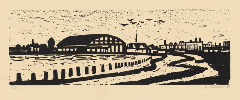 Alojz Klimo – Továreň, 1957, Slovenská národná galéria
