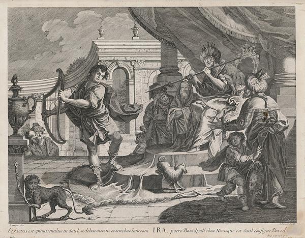 C. Canal, Vincenzo Scozia - David hrá kráľovi Saulovi