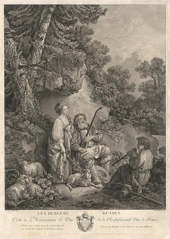 Jean-Baptiste Tilliard, Jean-Baptiste Le Prince - Ruskí pastieri