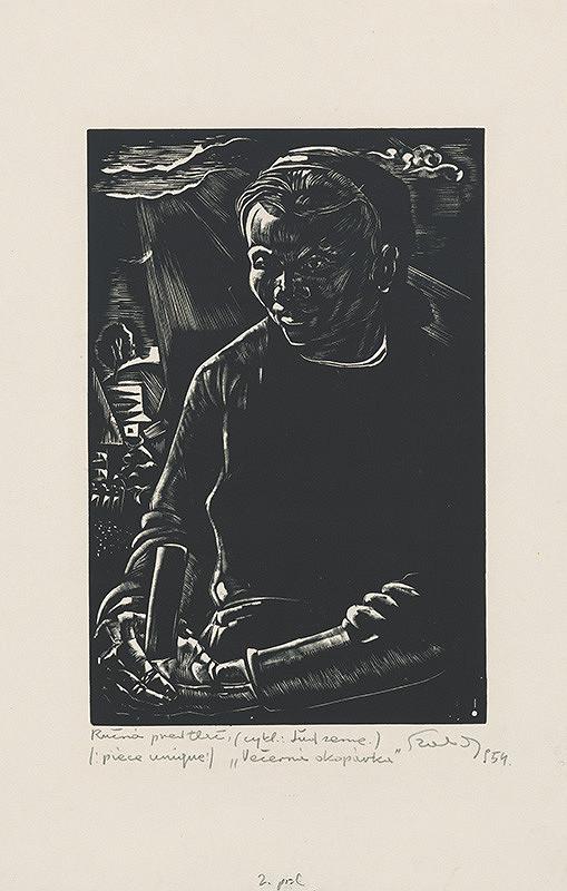 Július Szabó - Večerná okopávka