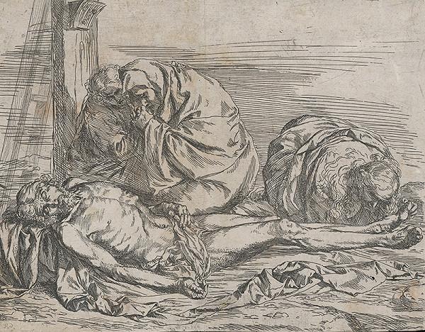 Jusepe de Ribera – Oplakávanie Krista