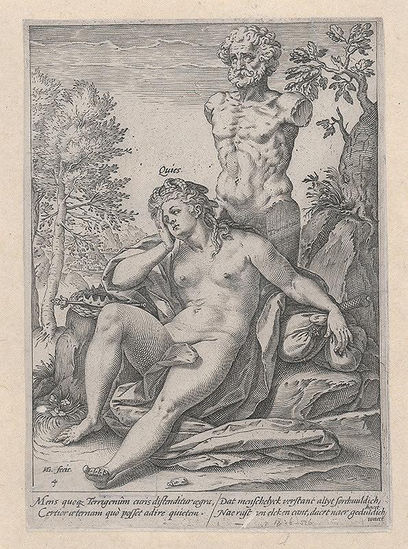Hendrick Goltzius - Alegória tvorby