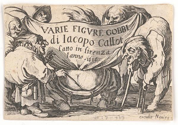 Jacques Callot – Titulný list k sérii Pidimužíkov