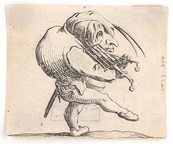 Jacques Callot – Hrbáč s ražňom
