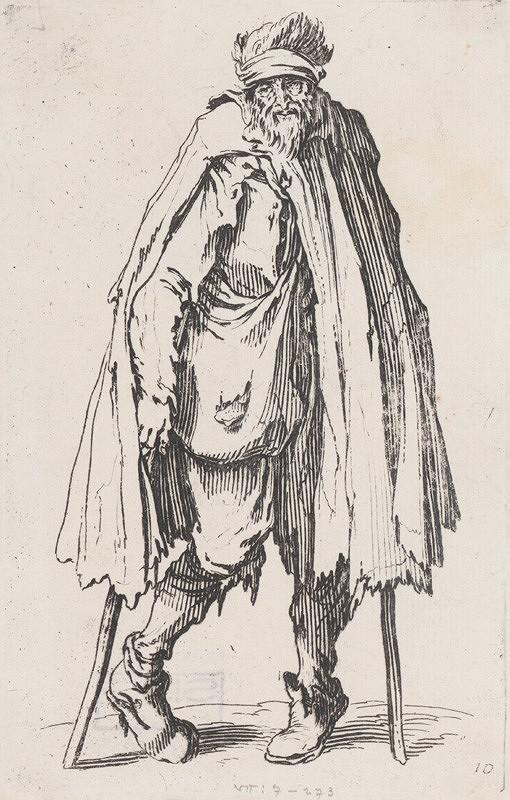 Jacques Callot – Krivonohý žobrák