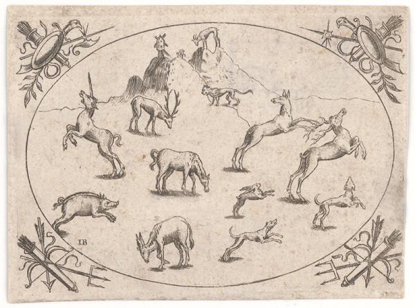 Jacob Binck – Zvieratá