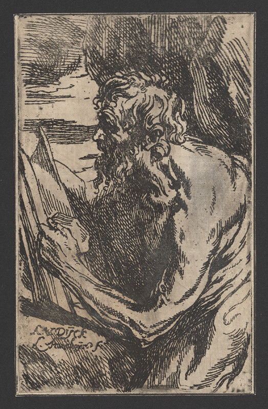 L. Stan, Anthony van Dyck – Prorok