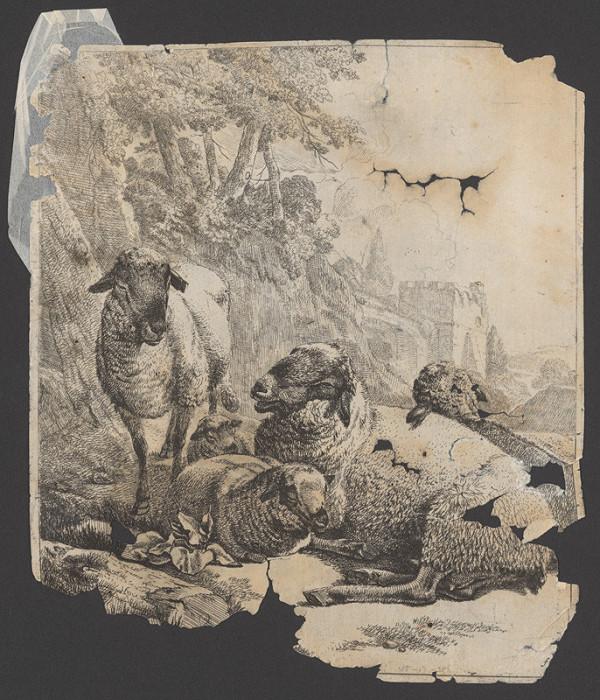 Johann Heinrich Roos – Stádo s kravou