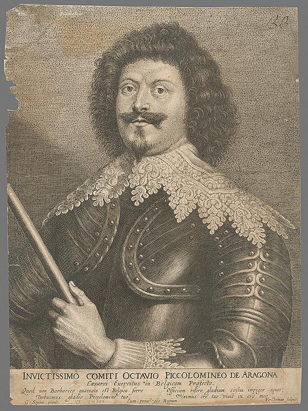 Gerard Seghers, Lucas Vorsterman – Octavio Piccolomini de Aragon