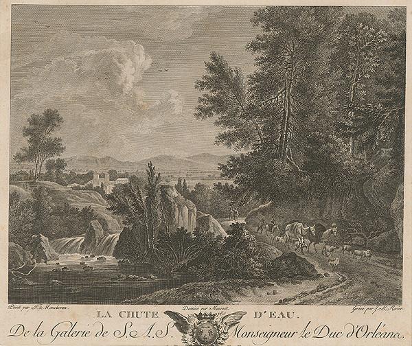 Jean-Baptiste Racine, Frederik de Moucheron – Vodopád