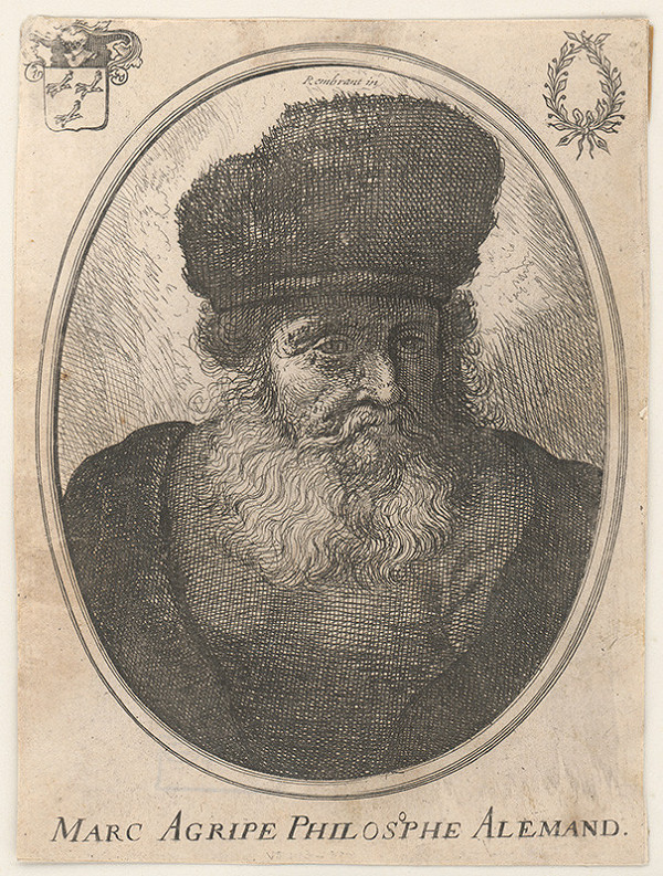 Rembrandt van Rijn - Marc Agripe