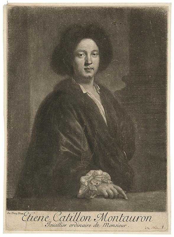 Jean François De Troy – Etiene Catillon Montauron