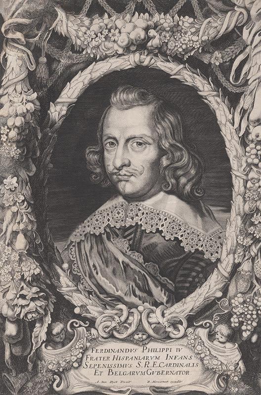 Jonas Suyderhoef, Anthony van Dyck – Ferdinand Filip IV