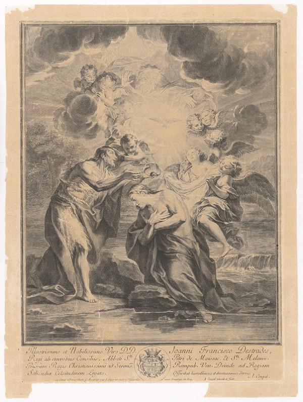 Charles-Antoine Coypel – Kristov krst v Jordáne