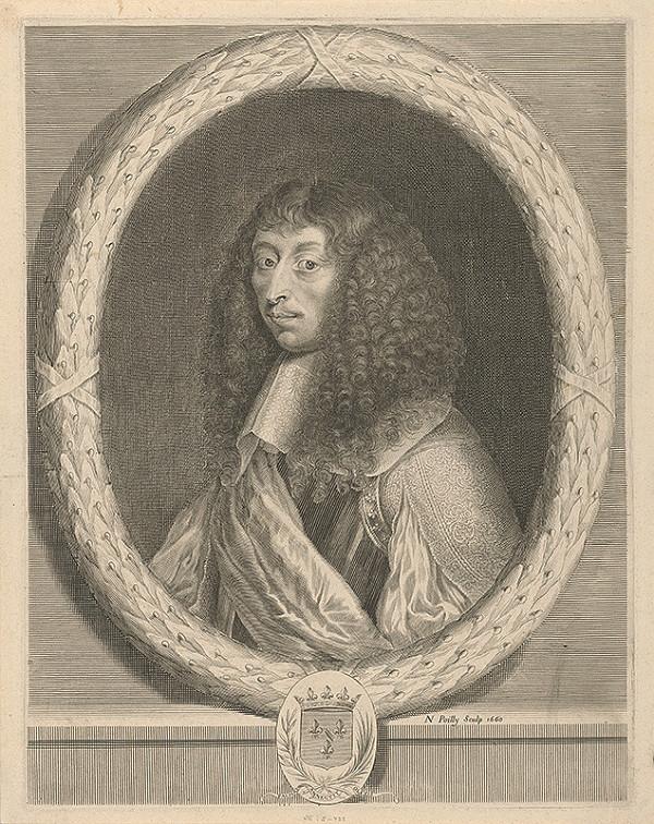 Nicolas de Poilly – Portrét šľachtica