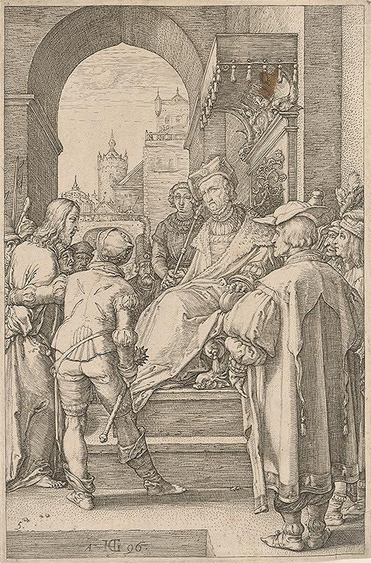 Hendrick Goltzius – Kristus pred Pilátom