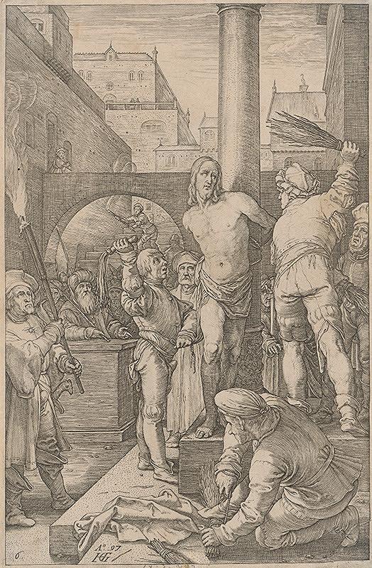 Hendrick Goltzius – Bičovanie Krista (6)
