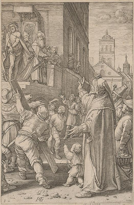 Hendrick Goltzius - Ecce homo