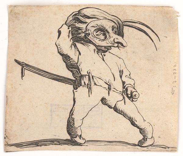 Jacques Callot – Mužík s maskou