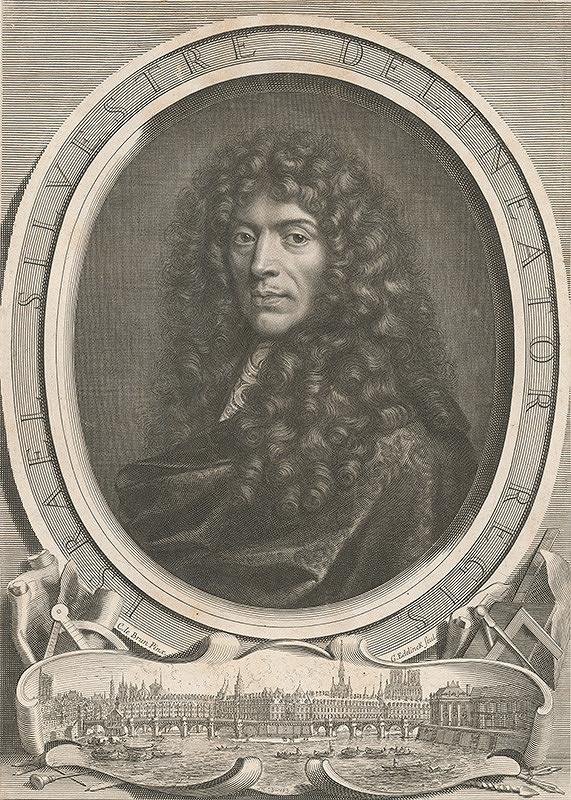 Gerard Edelinck, Charles le Brun – Israel Silvestre