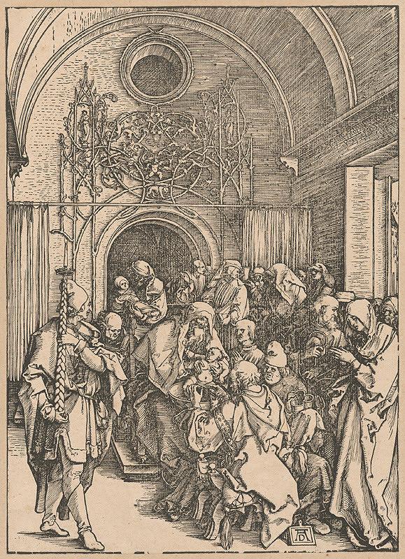Albrecht Dürer – Obrezanie Krista