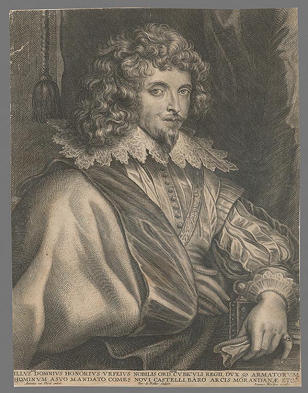 Pieter de Bailliu, Anthony van Dyck - Honorius Urfeius