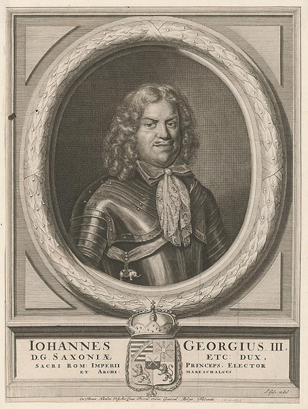 Jacob Gole, Claes Jansz. Visscher – Johannes Georgius III. Saxonie dux.