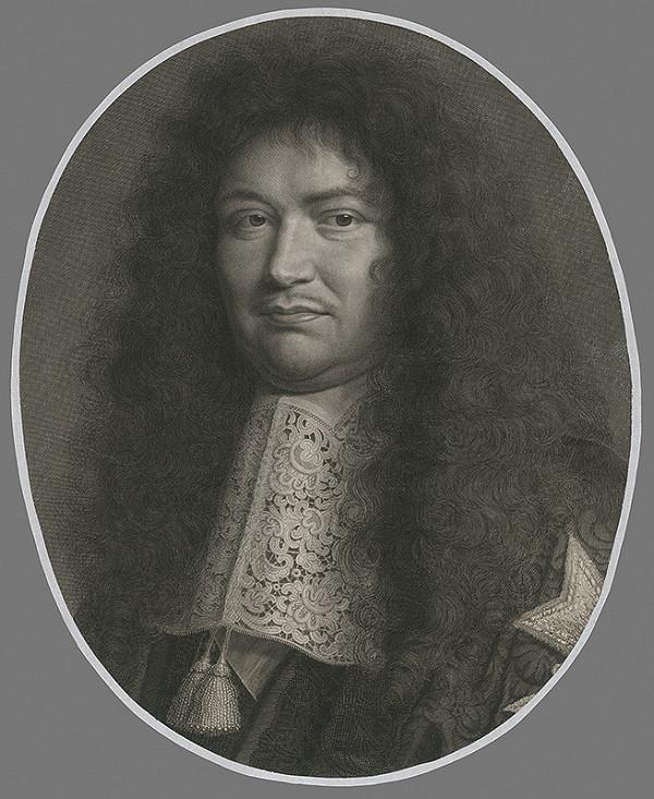 Robert Nanteuil - Portrét šľachtica