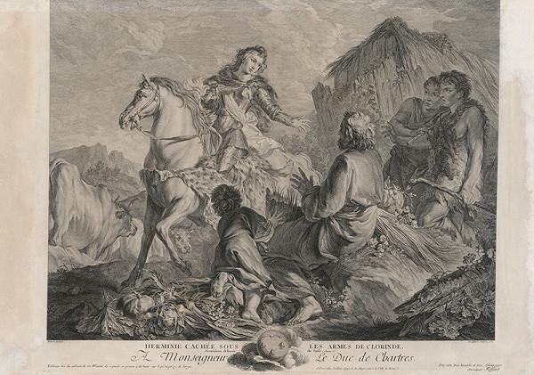 Etienne Fessard, Jean Baptiste Marie Pierre – Hermína poskytuje almužnu