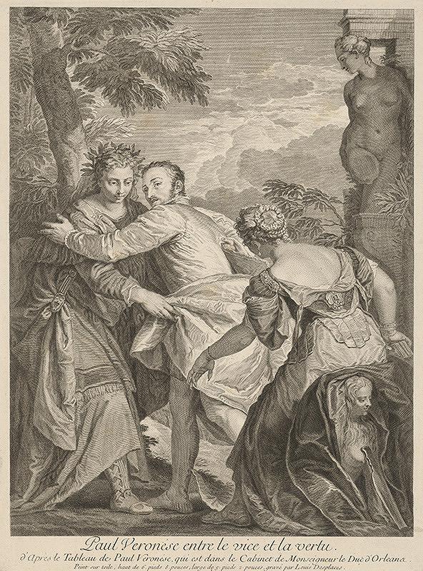 Louis Desplaces - Paul Veronese medzi Cnosťou a Neresťou