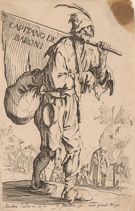 Jacques Callot - Žobrácky kapitán