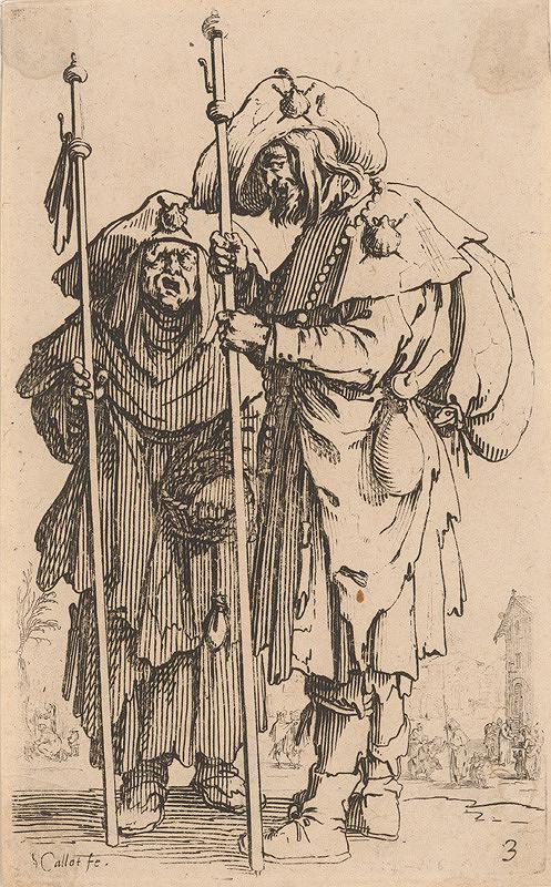 Jacques Callot – Dvaja pútnici