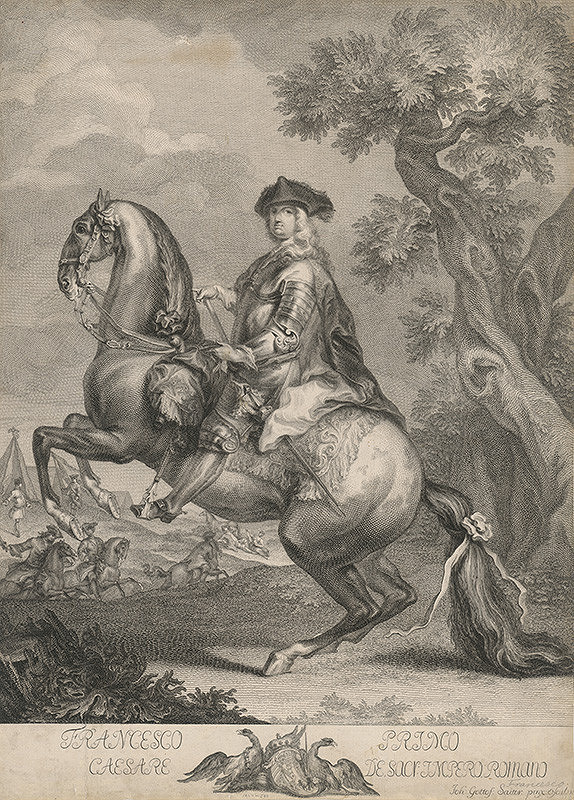 Johann Gottfried Seutter – František I.