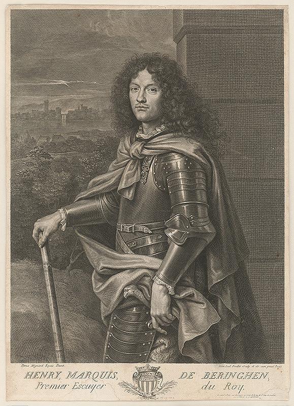 Jean Louis Roullet, Pierre Mignard - Henry de Beringhen