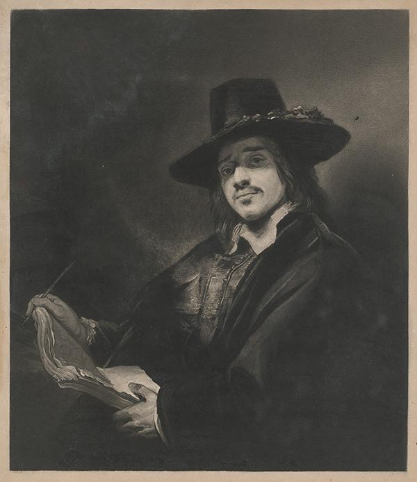 Stredoeurópsky autor z 18. storočia – Portrét mladého muža