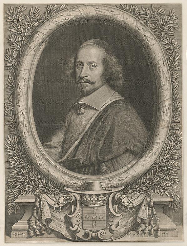 Francois de Poilly, Pierre Mignard - Kardinál Mazarin