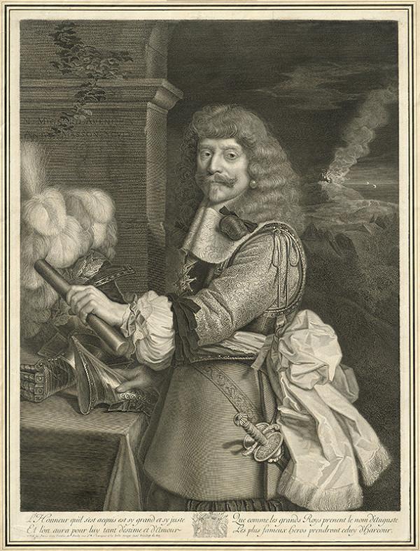 Antoin Masson, Nicolas Mignard - Comte de Harcourt