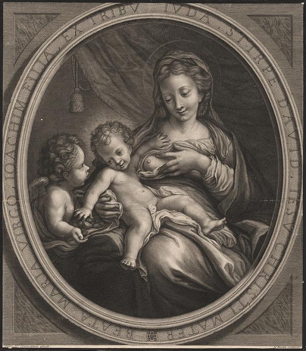 Nicolas Bazin, Antonio Allegri Correggio – Madona