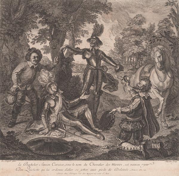 Israël Silvestre, Charles-Antoine Coypel – Don Quijote víťazí nad bakalárom