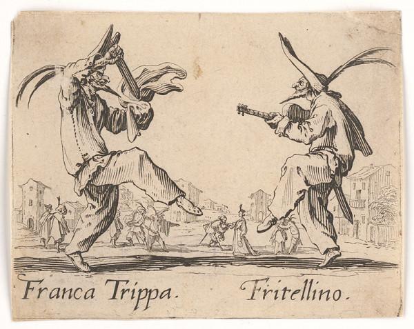 Jacques Callot - Franca Tripa a Frittelino