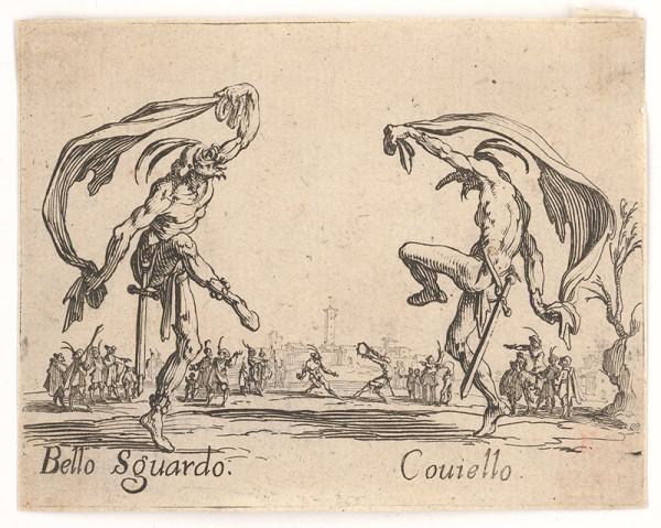 Jacques Callot – Bello Squardo a Couiello