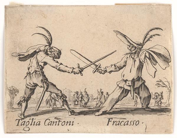 Jacques Callot – Taglia Cantoni a Fracasso