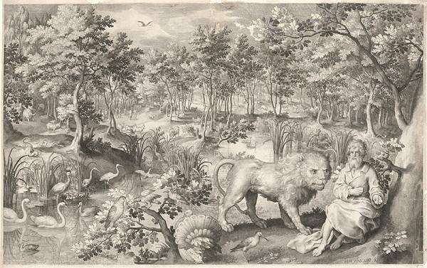 Nicolaes de Bruyn – Jeremiáš utiahnutý pred prenasledovateľmi