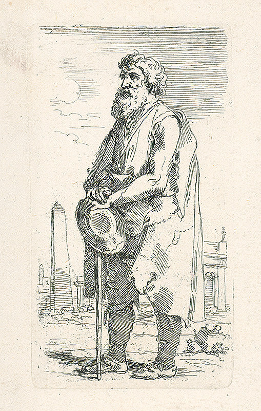 Josef Bergler ml. - Starý žobrák