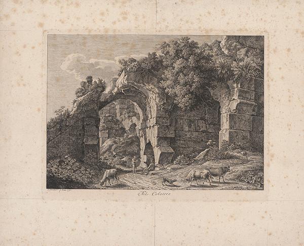 Johann Christian Reinhart – Zrúcanina Kolosea