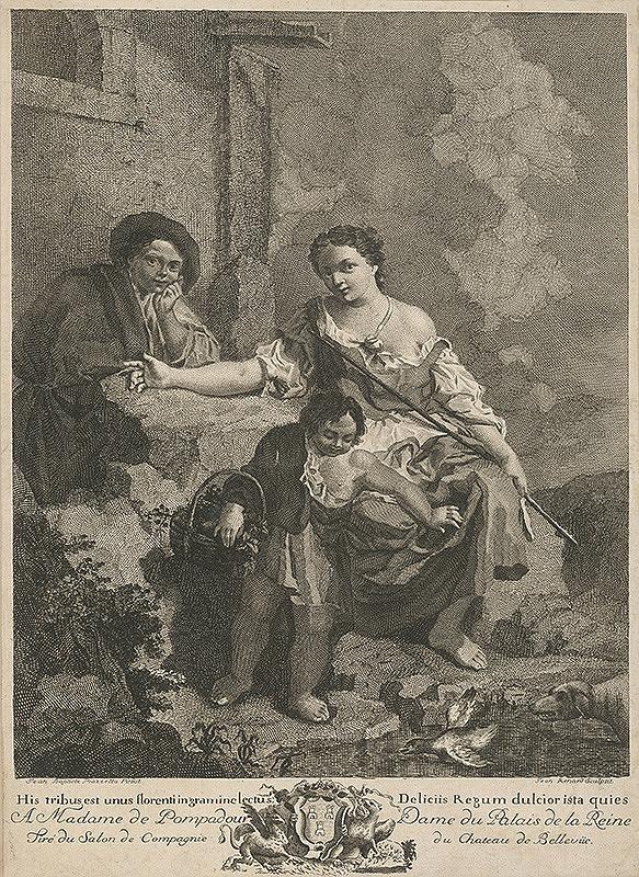 Jean Baptiste Piazzetta, Giovanni Volpato – Rodinné šťastie